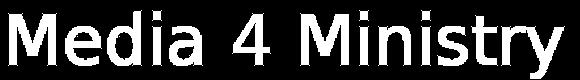 Media 4 Ministry logo